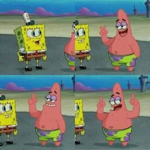 20 Mentahan Meme Spongebob Terpopuler