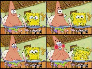 Mentahan spongebob bercanda disekolah mengemudi
