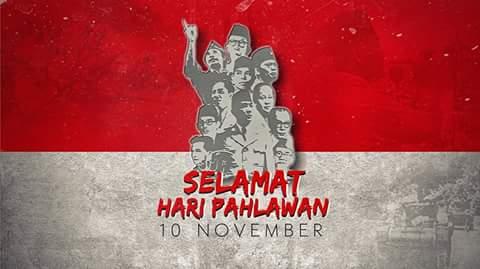 Polosan selamat hari pahlawan nasional