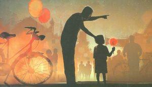 Gambar ayah bersama anaknya