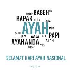 Meme selamat hari ayah nasional