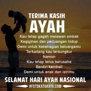 Ucapan selamat hari ayah nasional