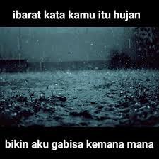 Gambar lucu ibarat hujan