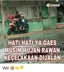 gambar hujan lucu nakal