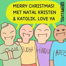 Kumpulan Gambar Meme Lucu Kata Kata Bijak Selamat Hari Natal