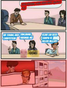 meme reynhard sinaga