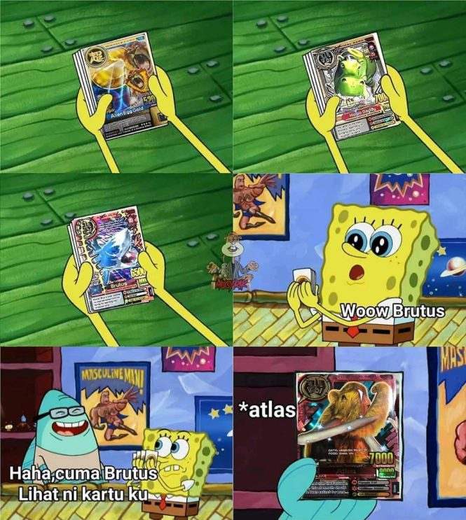 meme spongebob indonesia