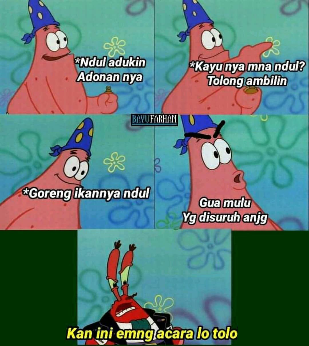 meme patrick
