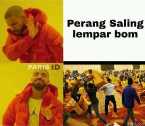drake meme indonesia