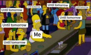 until tomorrow challenge