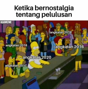meme angkatan tahun 2020
