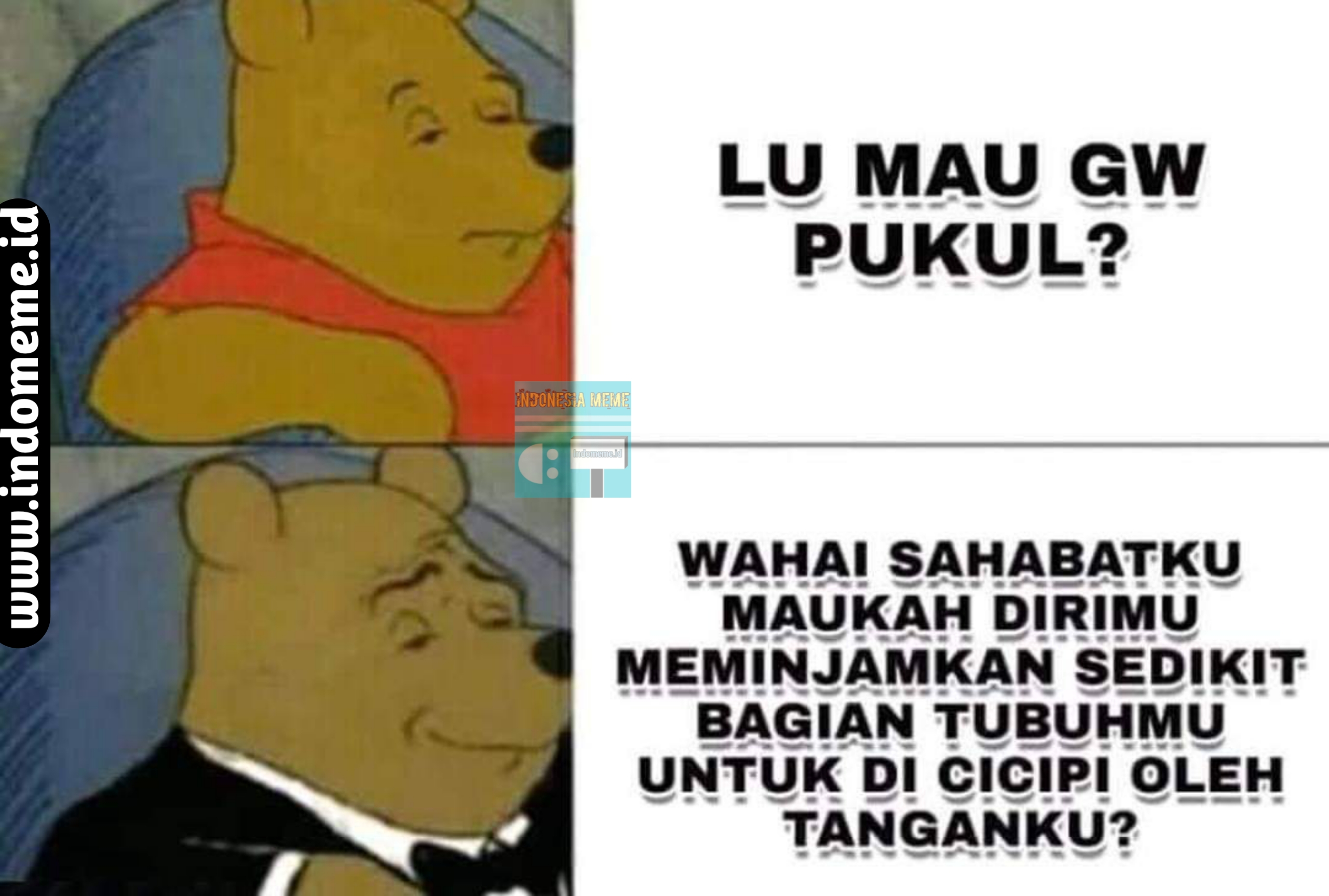 meme lucu berbahasa sopan