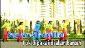 gambar baju baru alhamdulillah tuk dipakai di alam barzah